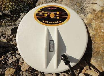 SD y White TDI//TDI Pro//TDI SL Series detectores de Metal Dorado con Protector de Cubierta de Bobina Incluido Bobina de b/úsqueda de dise/ño Cerrado para Minelab GPX DETECH GP