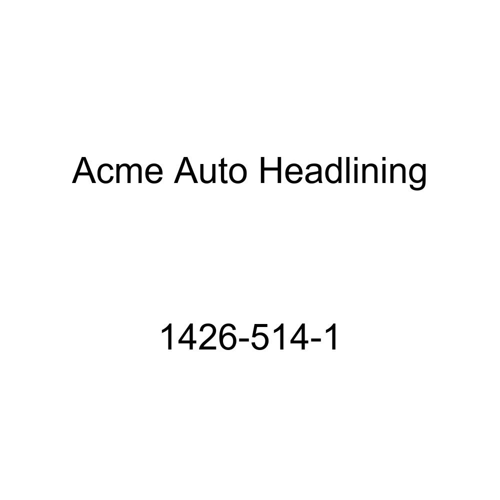 Acme Auto Headlining 1426-514-1 Light Green Replacement Headliner 1953 Chevrolet One-Fifty Series /& Two-Ten Series 2 Door Coupe 7 Bow