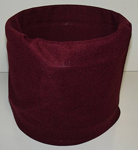 - Burgundy Maroon Wine Multi Function Microfiber Headband Face Mask Headwrap