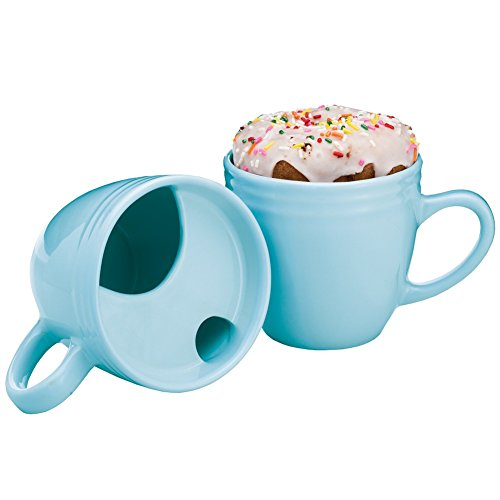 Best Morning Ever Mug - Coffee Cup & Pastry Donut Warmer - Ceramic - 16 Ounce