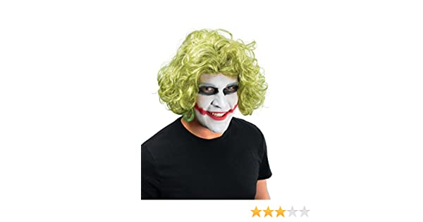 NEW GREEN WIG MAD MAN JOKER FANCY DRESS UNISEX (peluca): Bristol Novelty: Amazon.es: Juguetes y juegos