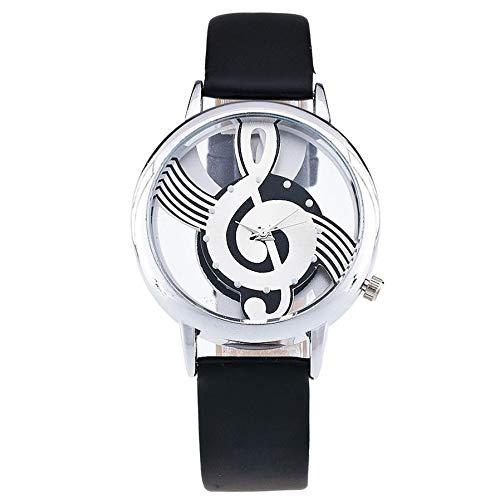 Coconano Relojes Mujer Baratos, Vansvar Reloj de Pulsera Analógico Con Correa de Cuero Newv Correa Newv Para Mujer: Amazon.es: Ropa y accesorios