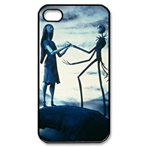 Jack Skellington Iphone 4/4s Case Cover The Nightmare Before Christmas best Iphone 4/4s Case 1ga922