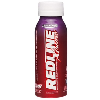 Redline Xtreme Energy RTD, Grape, 4 Pack - 8oz bottles
