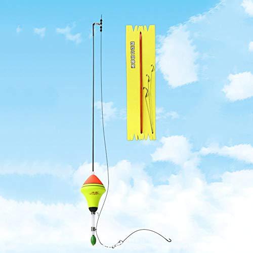 - AngellCity EVA Automatic Fishing Float with 3 Hooks Portable Pesca Carp Fishing Bobber