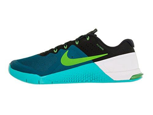 Nike Metcon 2 Scarpe Da Allenamento Cross Abisso Verde / Elettrico Verde-gamma Blu