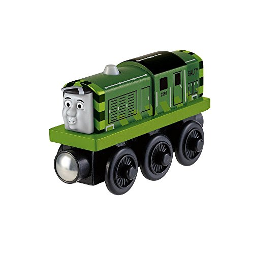 Thomas & Friends Wooden Railway - Toys R Us Exclusive - Green Salty (Thomas And Friends Tales On The Rails)