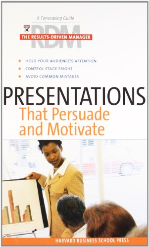Presentations That Persuade and Motivate (The Results-Driven Manager Series)