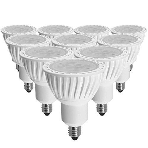 BeeLIGHT LED電球 E11 高演色Ra96 調光器対応 7W JDRφ50タイプ 電球色3000K 480lm 中角25° ハロゲンランプ60W相当 2年保証 (10個セット) B07CN4PWMT  ホワイトお買い得10個セット