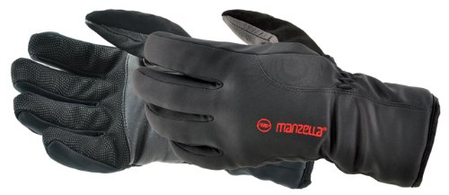 Manzella Men's Versatile Glove (Black, X-Large)