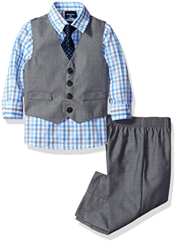 Nautica Four Piece Glen Plaid Vest product image