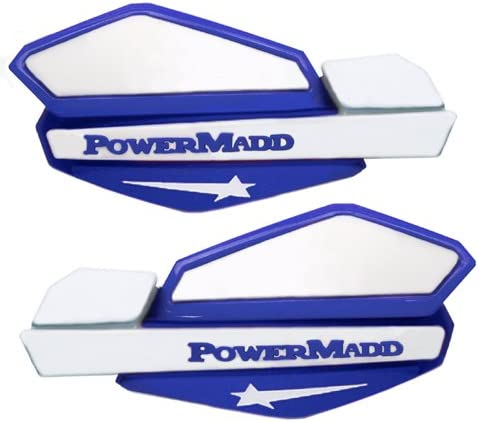 Manufacturer Part Number: PM14221-AD Stock Photo Actual POWERMADD STAR HANDGUARD BLUE//WHITE Manufacturer: POWERMADD