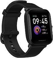 Smartwatch Amazfit Bip U Health Fitness com medida SpO2, bateria de 9 dias, respiração, ritmo cardíaco, estres