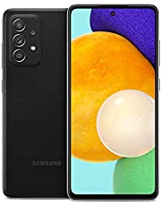 Samsung Galaxy A52 5G, Factory Unlocked Smartphone, Android Cell Phone, Water Resistant, 64MP Camera, US Version, 128GB, Black