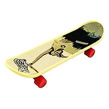 Finger Skateboard - SODIAL(R)4PCS Finger Board Tech Deck Truck Mini Skateboard Toy Boy Kids Children Gift
