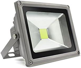 Amazon.co.jp: LED 投光器 50W 500W相当 LED投光器 昼光色 6000K 広角120度 防水加工 3mコード付き tl010w-50w : DIY・工具・ガーデン