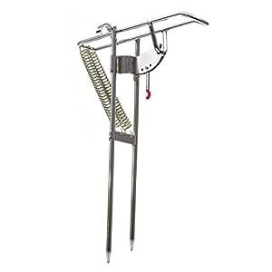 Chinatera Automatic Double Spring Angle Pole Fish Pole Bracket Fishing Rod Holder