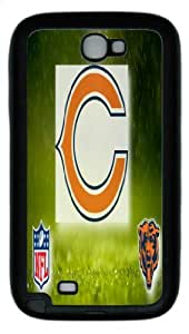 Popular Chicago Bears Logo,Chicago Bears Samsung Galaxy Note II N7100 Premium Case Covers