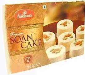 Haldiram Soan Cake 500gram (For Gift Sweets Boxes Indian)