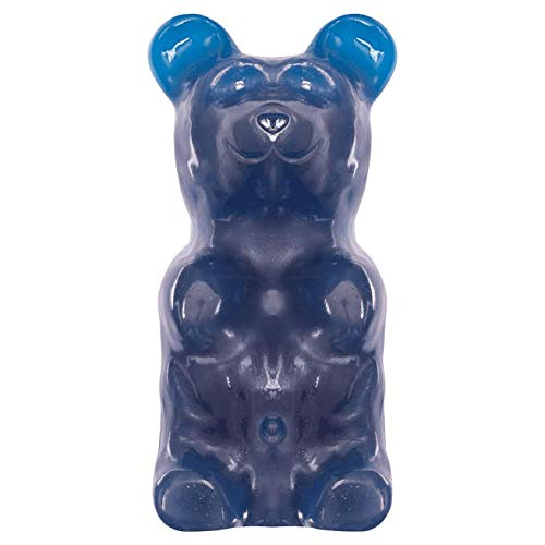 World's Largest Gummy Bear, Approx 5-pounds Giant Gummy Bear - Blue Raspberry