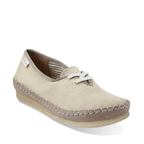 Clarks Mujeres Originals Faraway Beach Oxford Natural