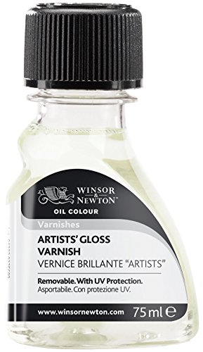 Gloss Varnish - Winsor & Newton Artists' Gloss Varnish, 75ml