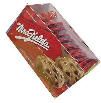 b6b4ccb7eb4 Amazon.com  Mrs. Fields Jumbo Individually Wrapped Chocolate Chip ...