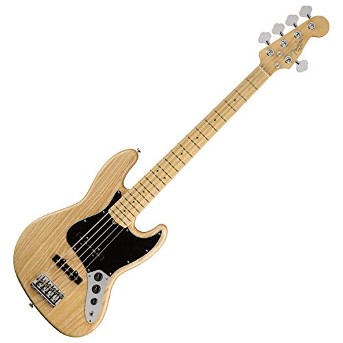 essional Jazz Bass V - Natural w/Maple Fingerboard ()