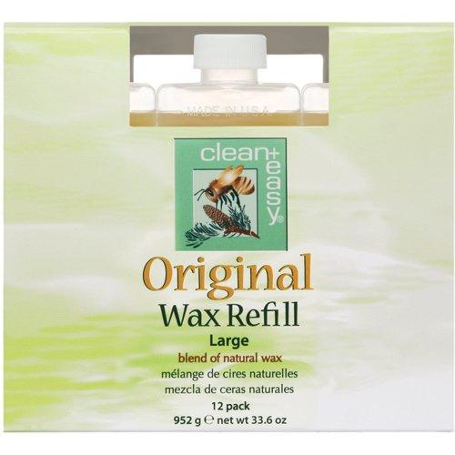 - C+E Original Wax Refills, Large (leg) Original Wax, 2.8 oz - Pack of 12