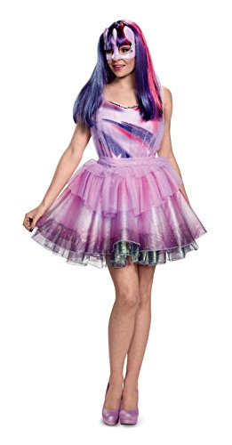 Twilight Sparkle Adult Costumes (Disguise Women's Twilight Sparkle Movie Deluxe Adult Costume, Purple, Small)