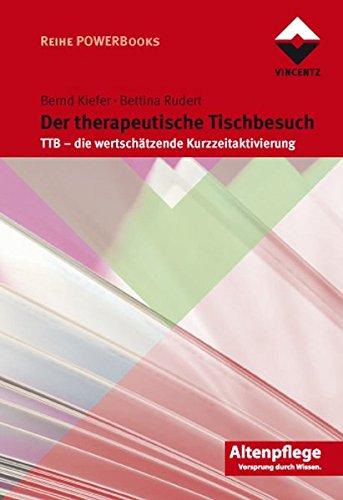 Der therapeutische Tischbesuch. TTB - die wertschätzende Kurzzeitaktivierung.