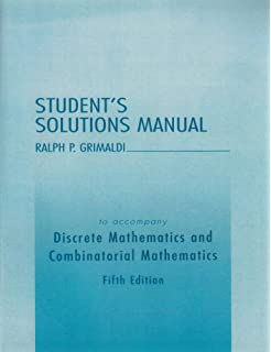 Discrete and combinatorial mathematics an applied introduction student solutions manual for discrete and combinatorial mathematics fandeluxe Gallery