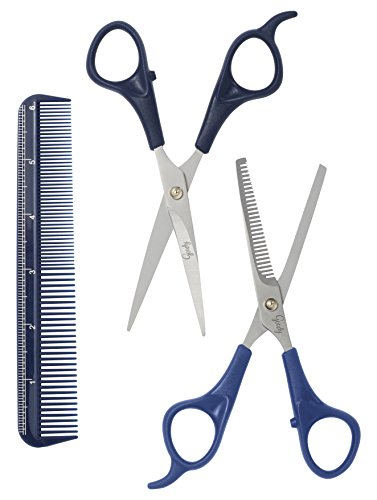 Goody New Style Kit, Hair Cutting Shear, Thinning Shear and Comb, 3 Pieces (1937048) by Goody