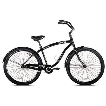 Genesis Onex Cruiser 29 Mens Bike weight aluminum cruiser frame Pedal Black steel NEW (Bike Genesis 29)