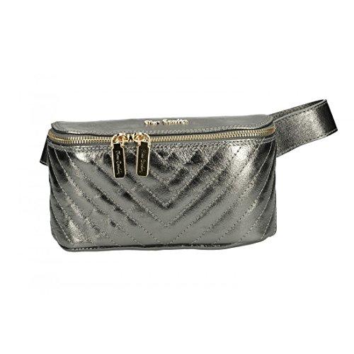 Pierre Cardin Silver Pocket Bag Woman Sport Leather Work Vn2742