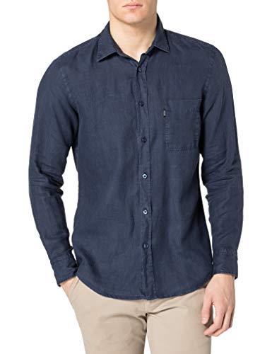BOSS Mens Relegant_2 10169252 03 Shirt, Dark Blue404, S