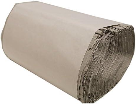 Satino Falthandtücher krepp, 1-lagig, natur, 25x23 cm, ZZ-Falz, 5.000 Tücher