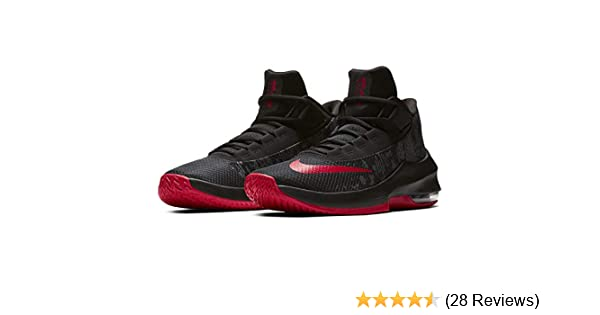 97f898f7fd Amazon.com | Nike Men's Air Max Infuriate 2 Mid Basketball Shoe ...