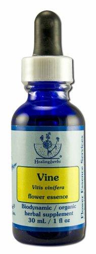 Bach Vine - Flower Essence Healing Herbs Vine Dropper - 1 fl oz