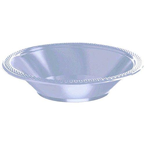 Amscan Pastel Blue Plastic Bowls, 12 Oz., 20 Ct. ()