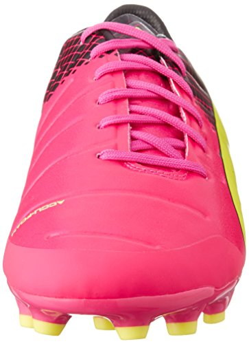 Puma Evospeed 2 3 Trick Ag Uomo Scarpe Calcio Rosa giallo