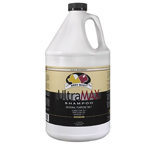 UltraMax Pro Shampoo Concentrate Gallon Dog Cat 4 in 1 Dilut