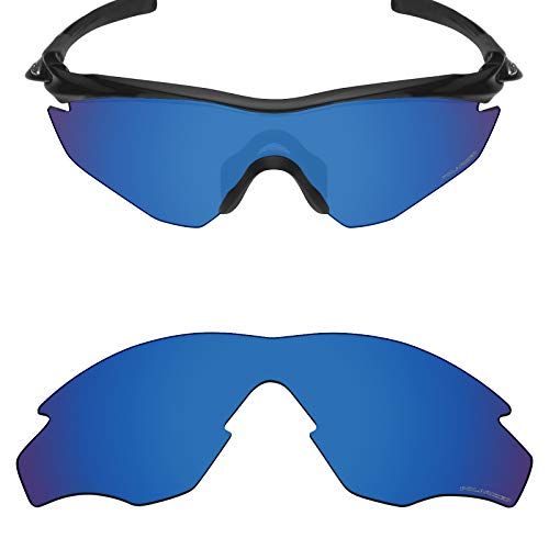 382eed62be6 Mryok+ Polarized Replacement Lenses for Oakley M2 Frame   M2 Frame XL -  Pacific Blue