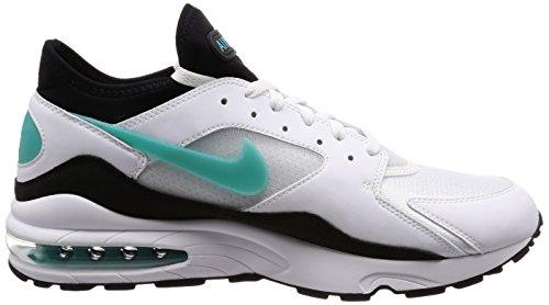 Nike Air Max 93-306551107 Bianco / Sport Turchese-nero