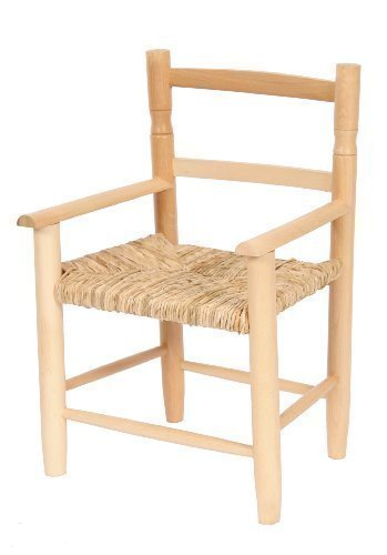 Aimbry Habasco Childrens Chair With Arms Natural Wood Kidu0027s Chair:  Amazon.co.uk: Baby