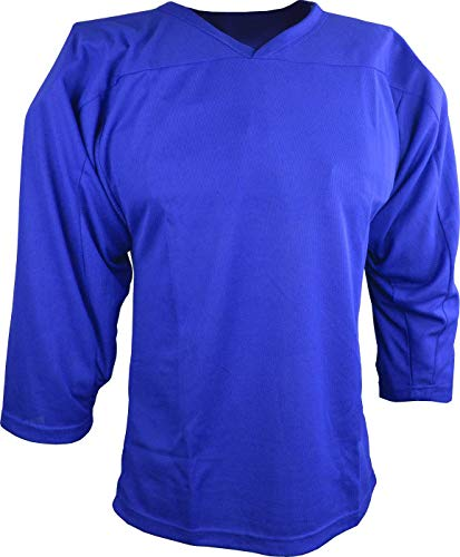 Sports Unlimited Youth Hockey Practice Jersey, Royal, S/M
