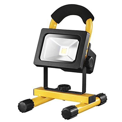 DEKO LED Work Light Rechargeable 1500LM 20W Portable for Outdoor Waterproof Camping,Workshop,Construction Site by DEKO