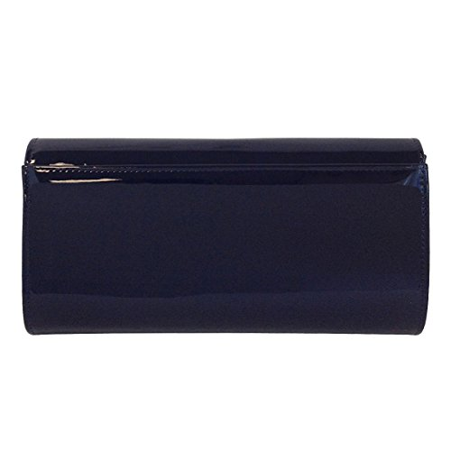 Clutch Leather Women's JNB Patent Candy Navy nBxxg