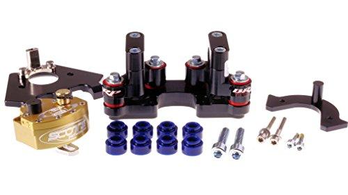 (Scotts SUB Mount Rubber Steering Stabilizer Damper kit for KTM 2011-2016 690E, 690SMC)