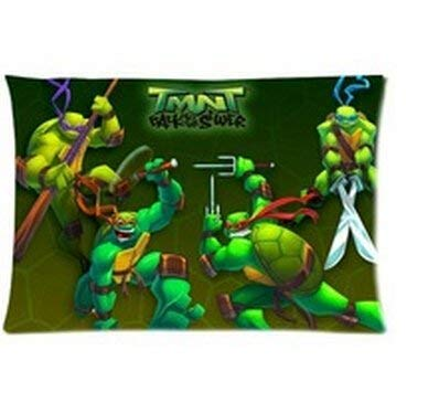 LOOKiigre Teenage Mutant Ninja Turtles Pillow Cases for Beds 20